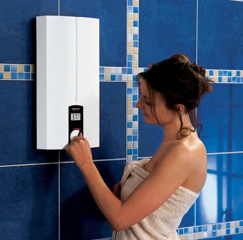 Как выбрать и установить проточный электрический водонагреватель на душ