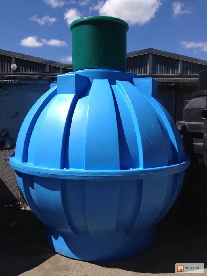 Пластиковая выгребная яма - надежно и удобно | септик клён официальный сайт производителя!