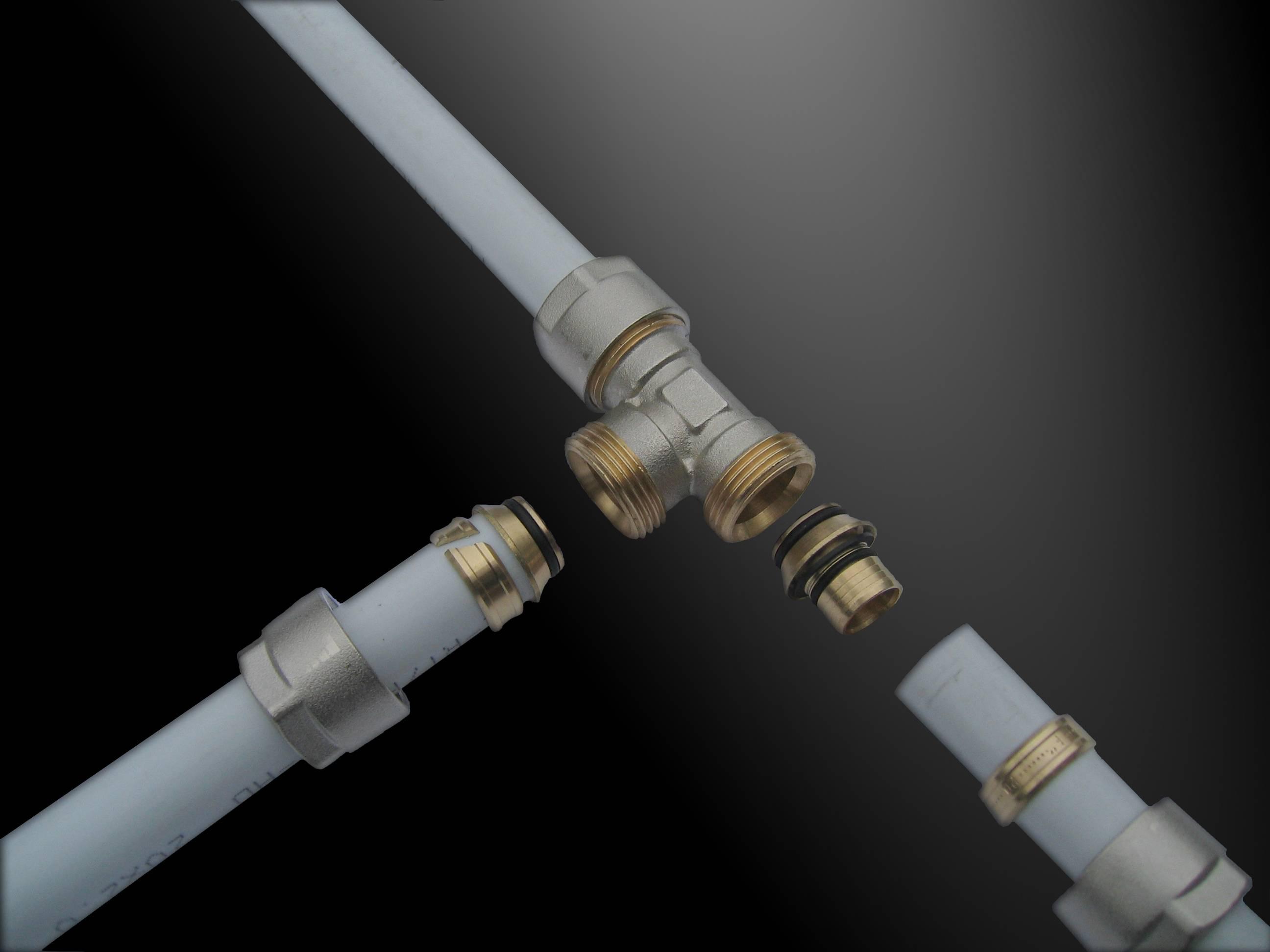 Монтаж труб из сшитого полиэтилена: виды соединения, инструкция как сделать своими руками