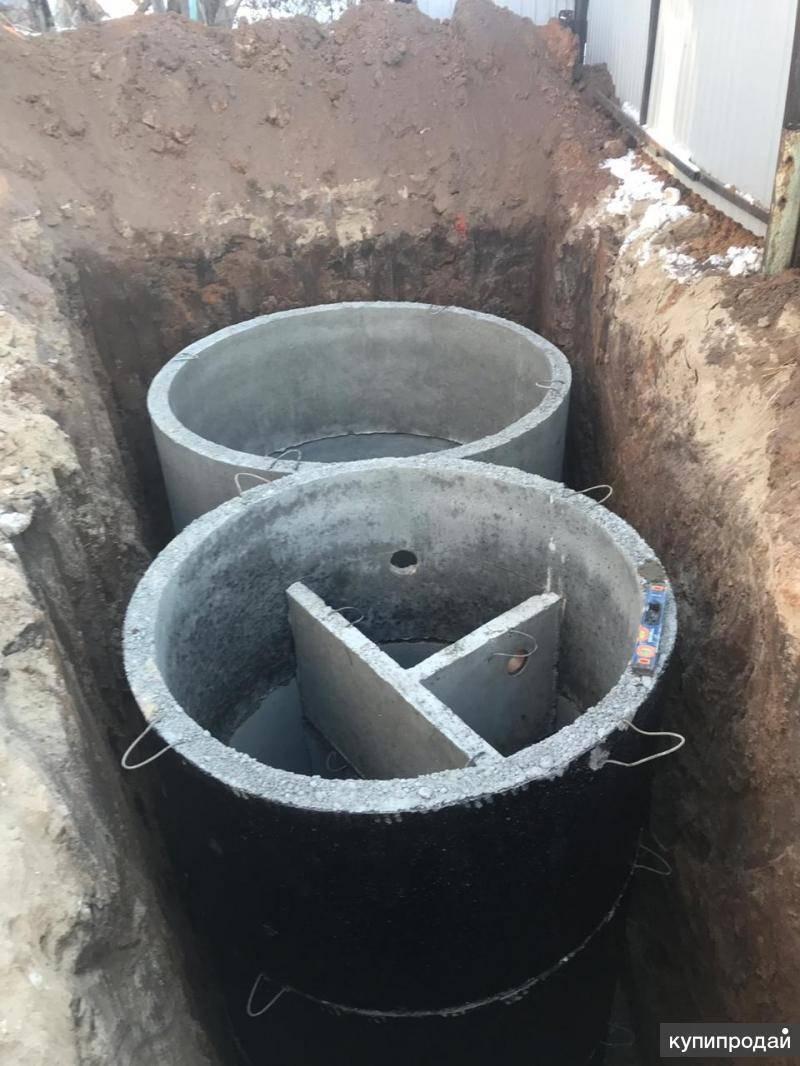 Септик из бетонных колец своими руками для частного дома — свой дом
