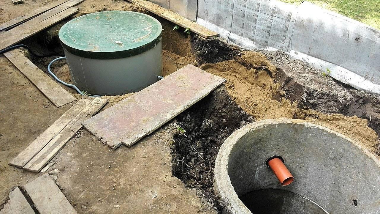 Выгребная яма из покрышек своими руками, как сделать сливную яму правильно