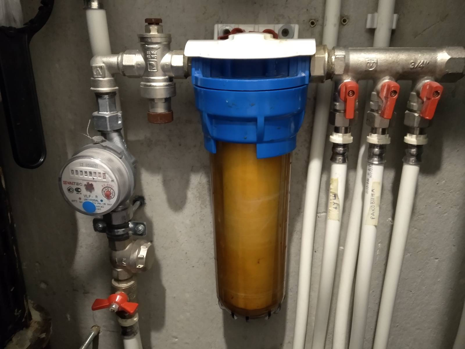 Выбираем  проточный магистральный фильтр для воды - 6 советов | строительный блог вити петрова