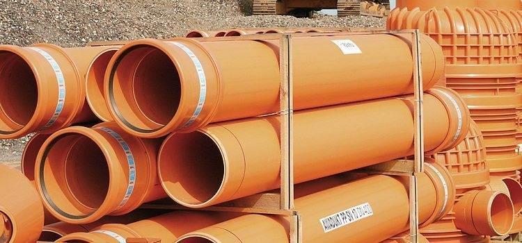 Труба канализационная рыжая: виды, размеры и диаметры (110, 160, 200), нюансы монтажа