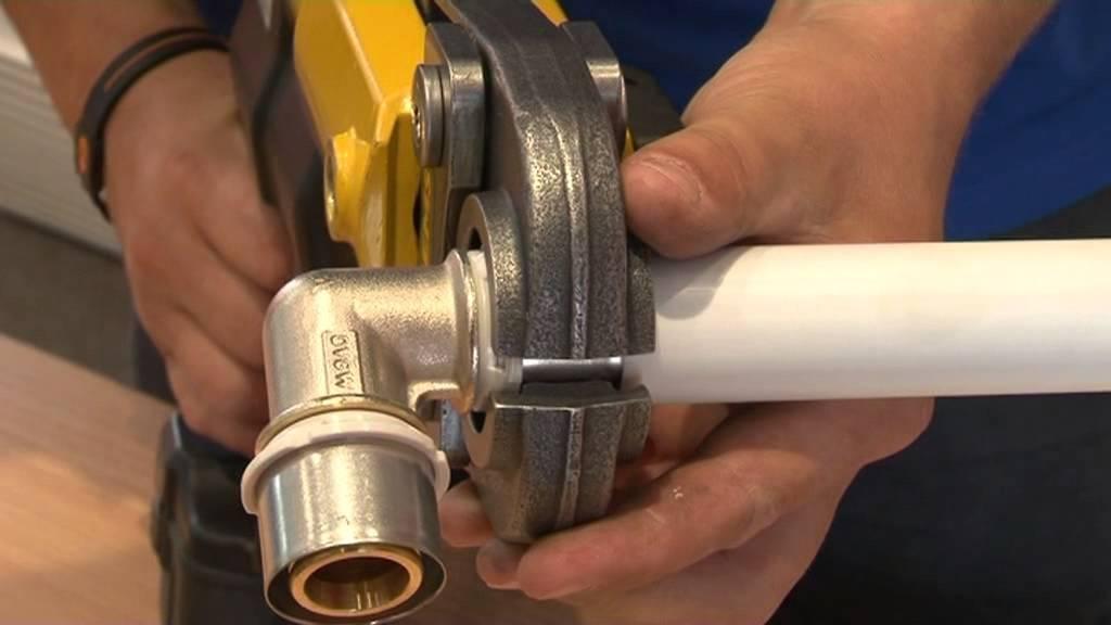 Пресс-клещи для металлопластиковых труб — как выбрать + инструктаж по использованию