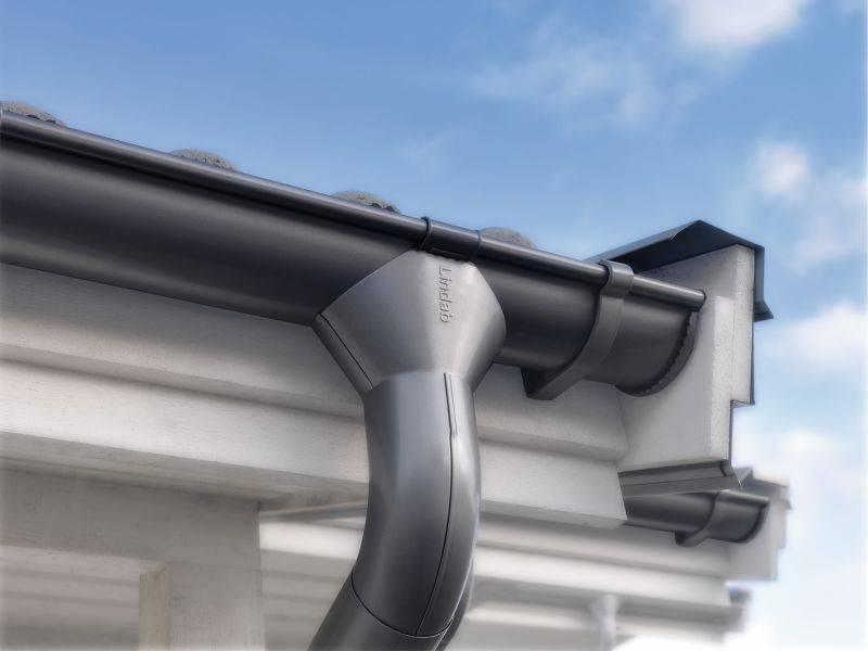Водосточная труба (45 фото): значение диаметра и размеров, длина и гост, установка водостока своими руками и звенья водоотводной системы