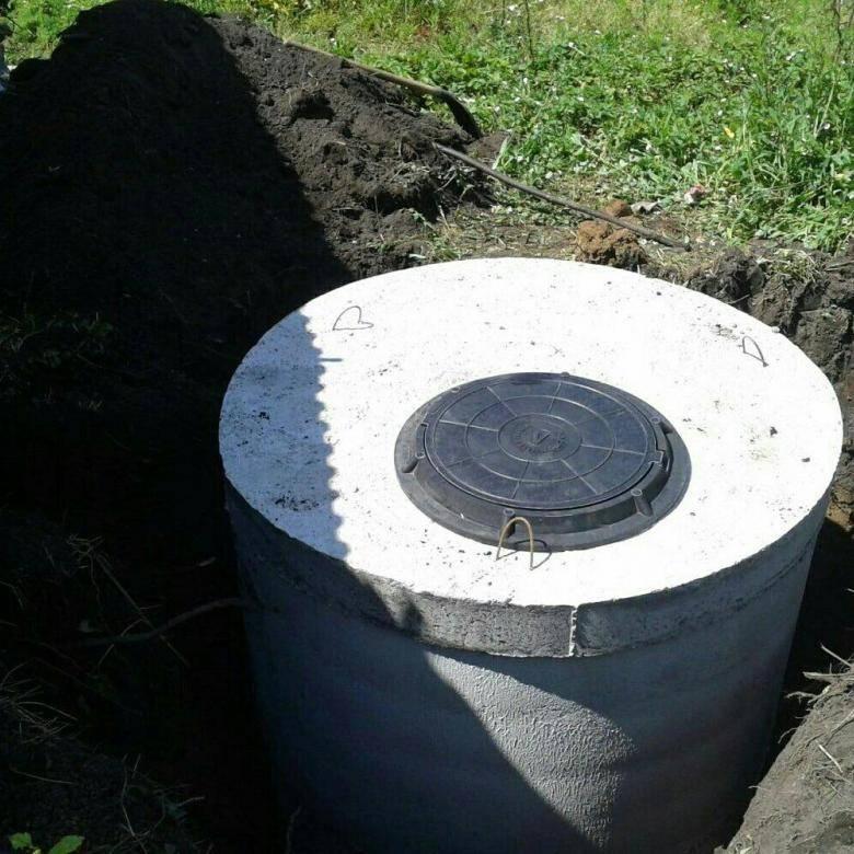 Септик из бетонных колец под ключ – стоимость монтажа