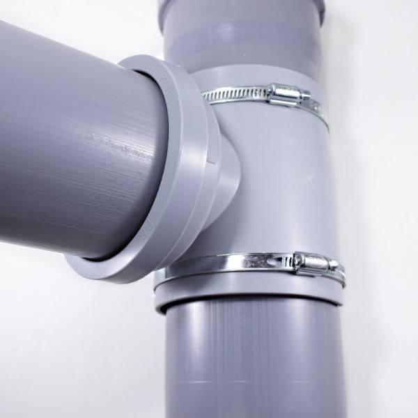 Как врезаться в пластиковую канализационную трубу (фото, видео)