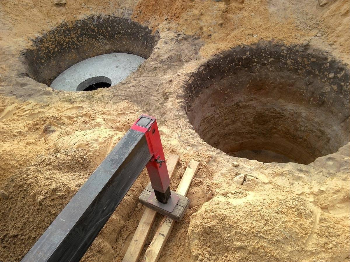 Как выкопать яму для септика