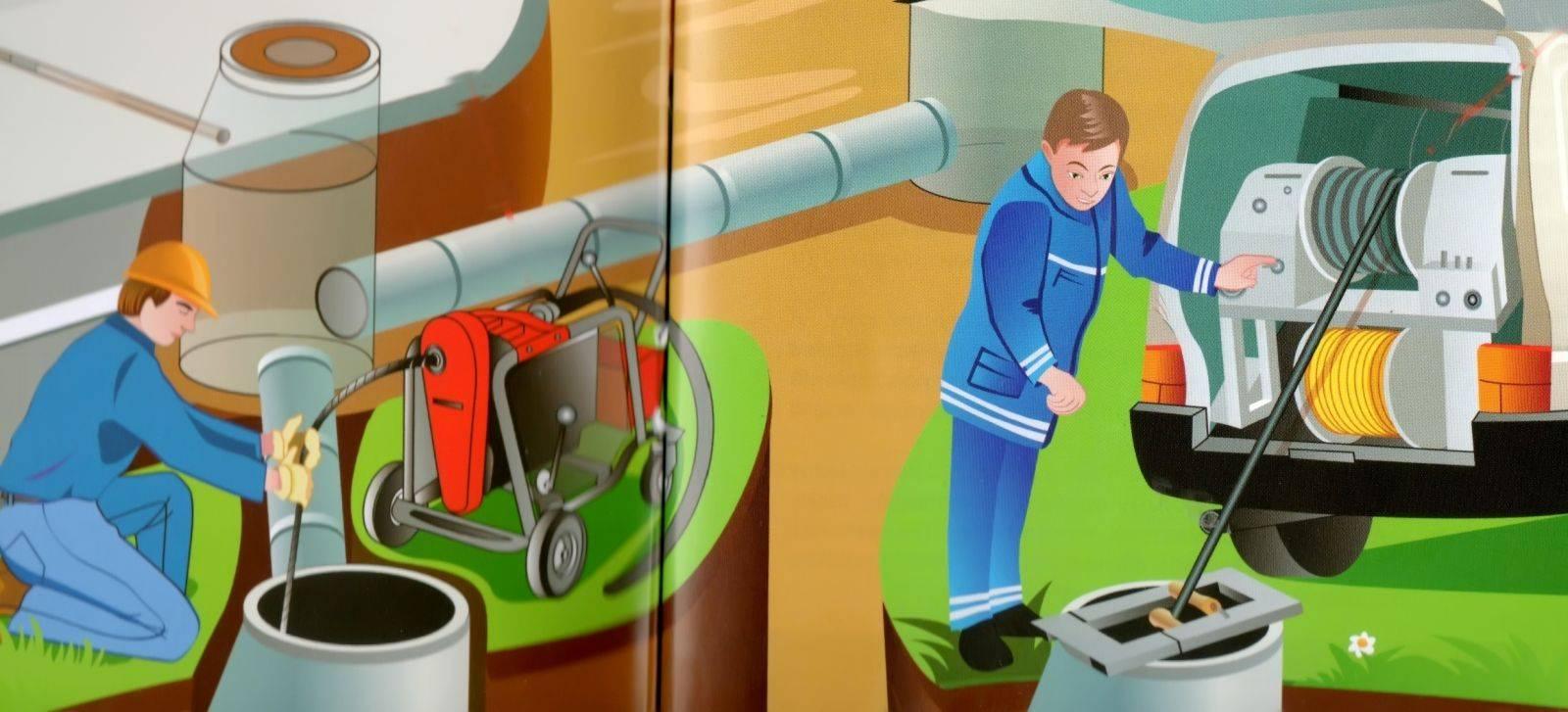 Устранение засоров канализации: средства и способы