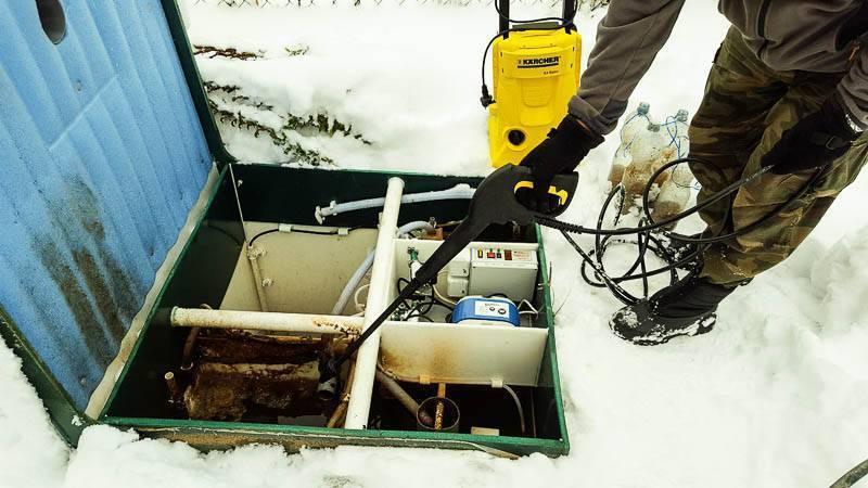 Рекомендации, как не заморозить септик зимой