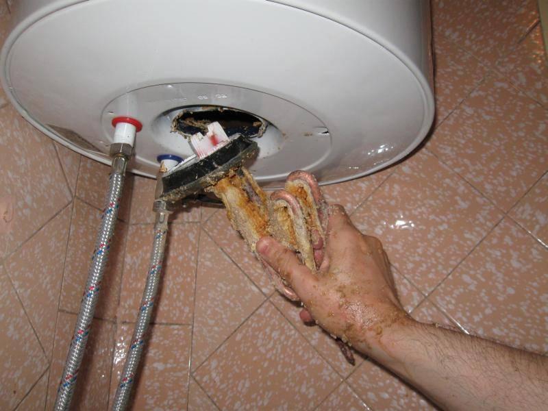 Потек бойлер (водонагреватель): что делать?
