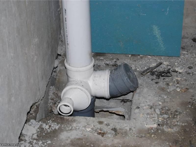 Монтаж и замена канализационного стояка в квартире своими руками, видео