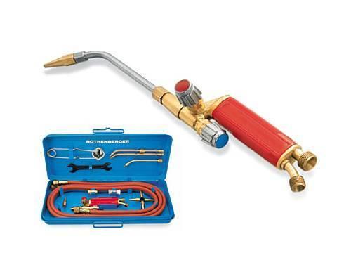 Горелка для пайки медных труб: твердым припоем, под мапп газ, пропановая, газокислородная