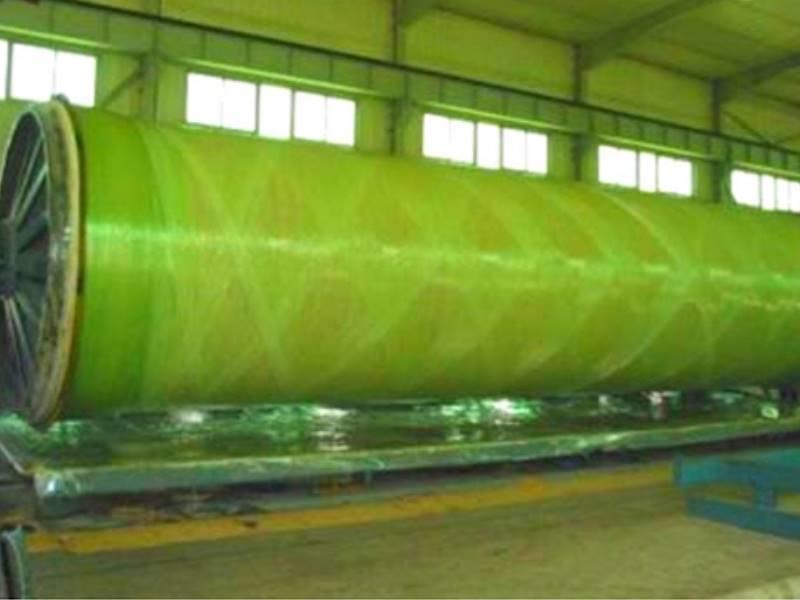 Стеклопластиковые трубы: производство труб из стеклопластика большого диаметра, монтаж
