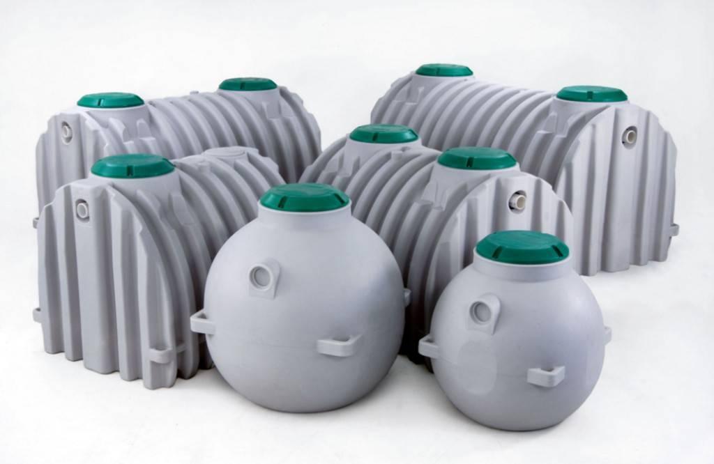 Баки (резервуары) для канализации на даче или в загородном доме