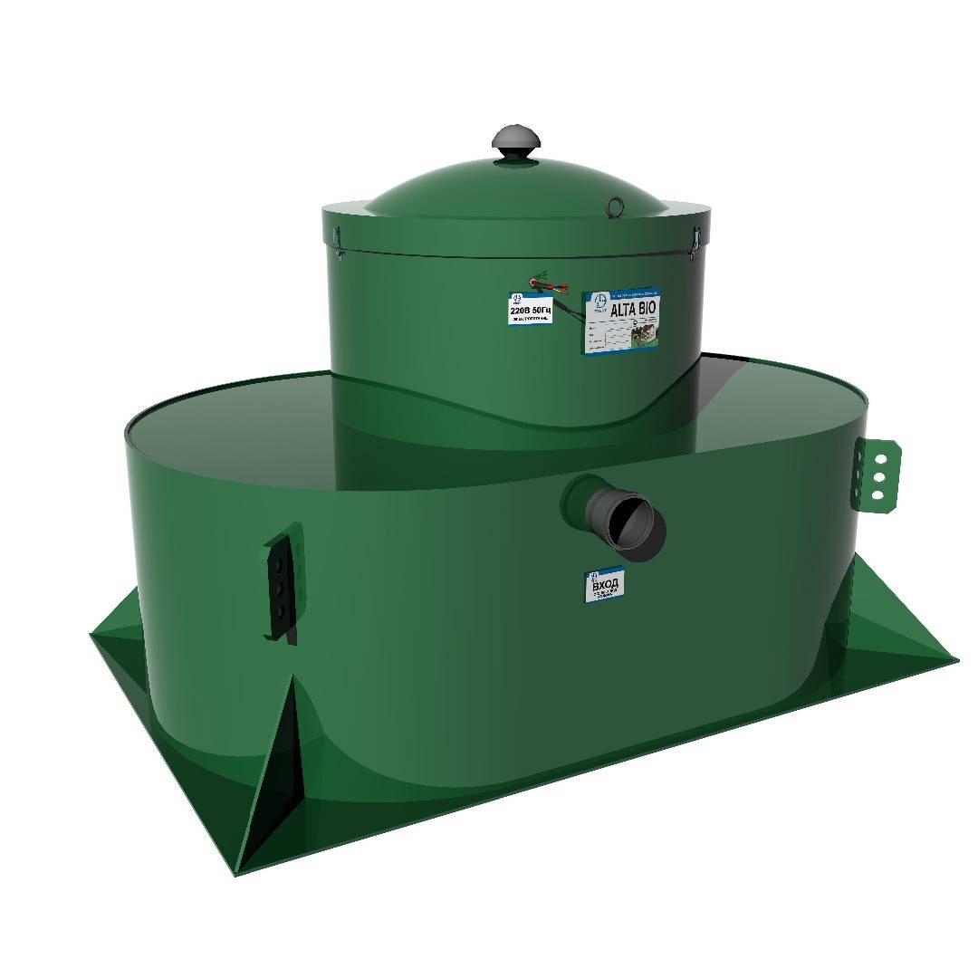 Система для очистки сточных вод альта био 5 и 5+