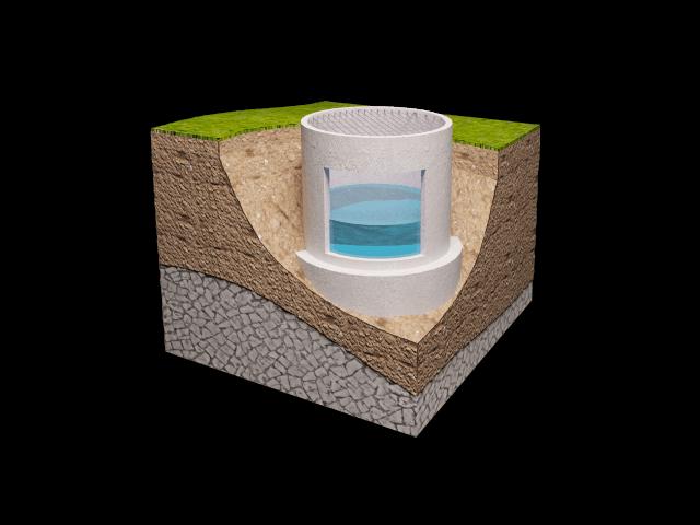 Поэтапная гидроизоляция колодца из бетонных колец