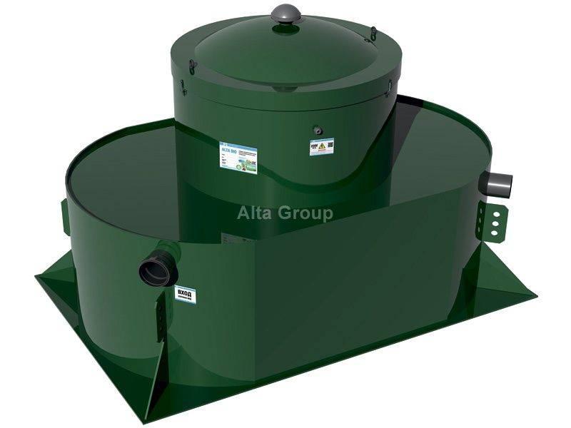 Биосептик alta bio 5 low. автономная канализация без запаха! гарантированно!