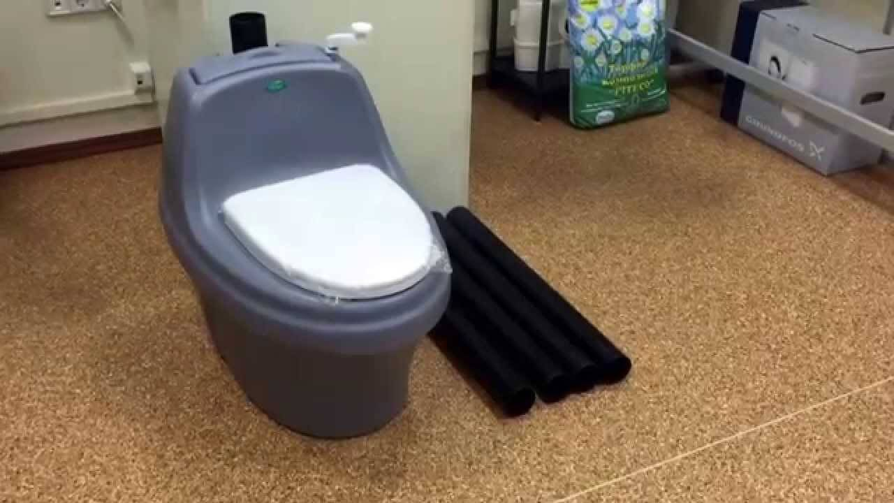 Торфяной туалет экоматик