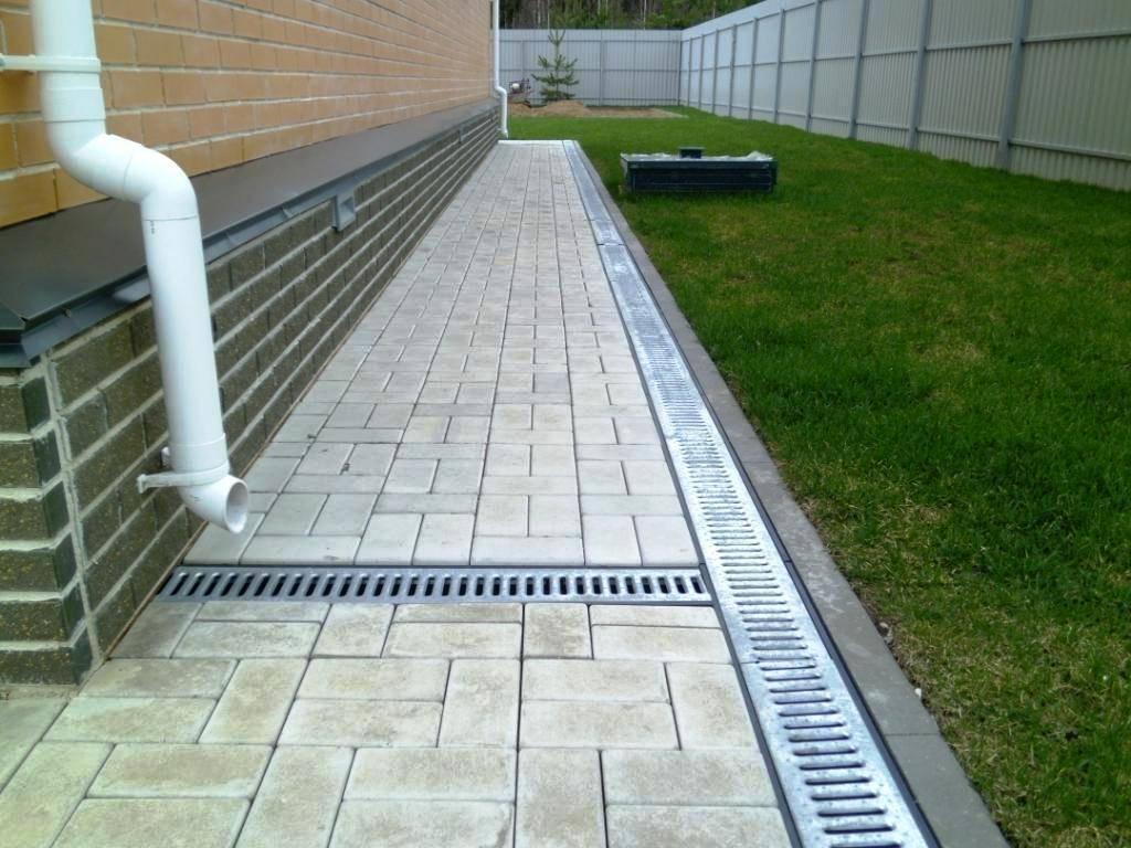 Устройство ливневой канализации для частного дома