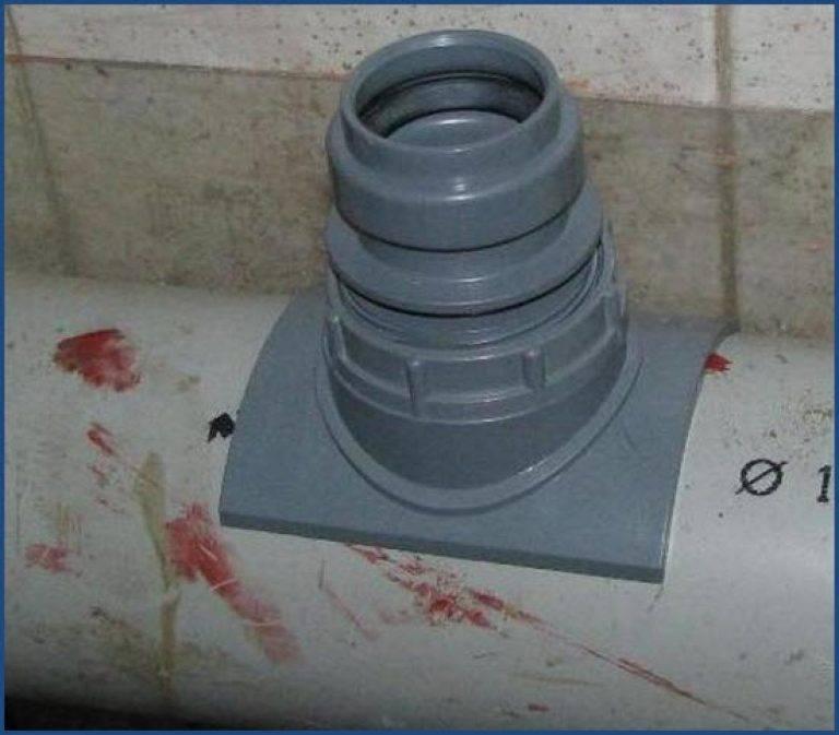 Как врезаться в канализационную трубу пластиковую