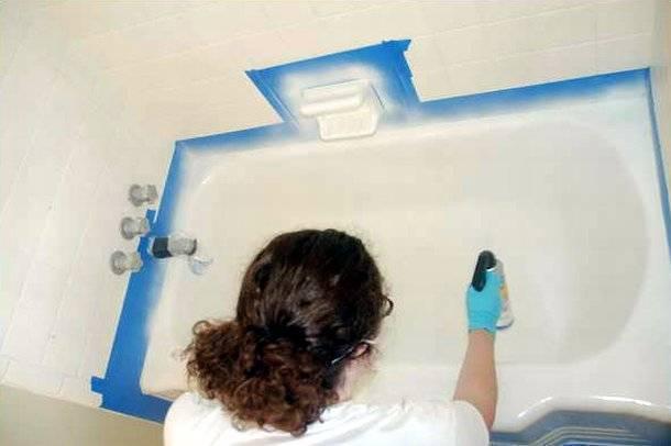 Как восстановить эмаль ванны - фото и видео инструкция