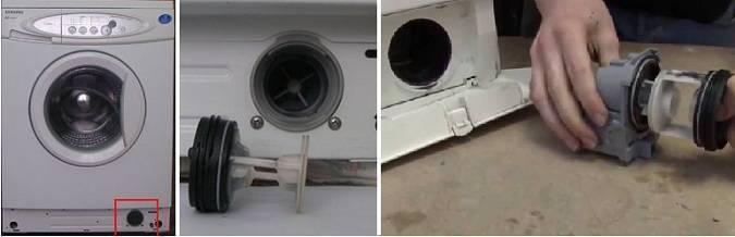 Стиральная машина не до конца сливает воду – что делать?