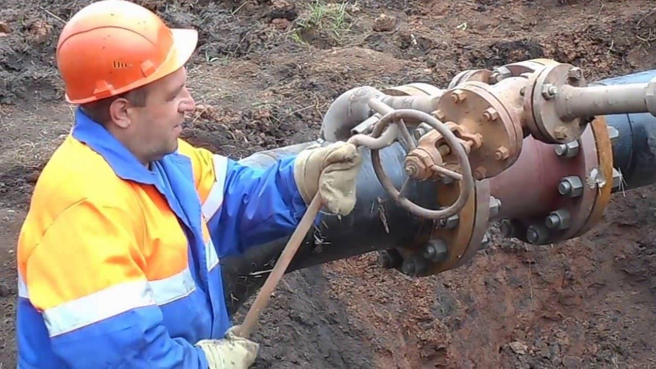 Гидравлическое испытание трубопроводов водоснабжения