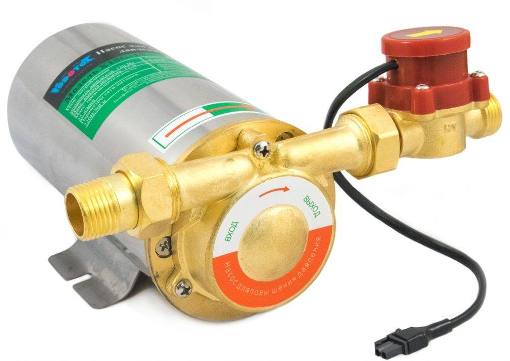 Насос повышающий давление в водопроводе – модели, выбор, установка