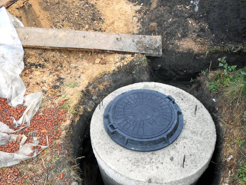 Установка канализационных люков: монтаж канализационного люка