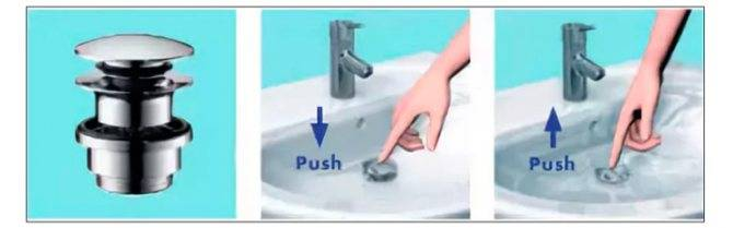Донный клапан в смесителе: что это такое и для чего нужен, выбираем кран для умывальника