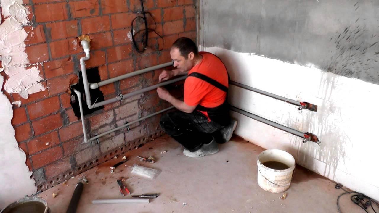 Замена труб водоснабжения в квартире, какую выбрать