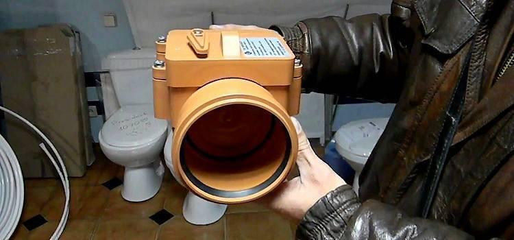 Канализационный обратный клапан: фото, видео, виды, устройство, принцип работы