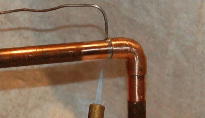Медные трубы — инструкция пайки медных соединений (мягким припоем)