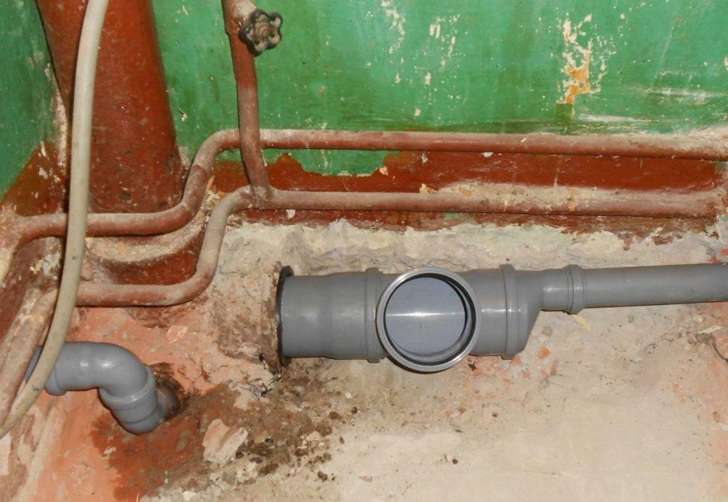 Чугунные трубы для канализации