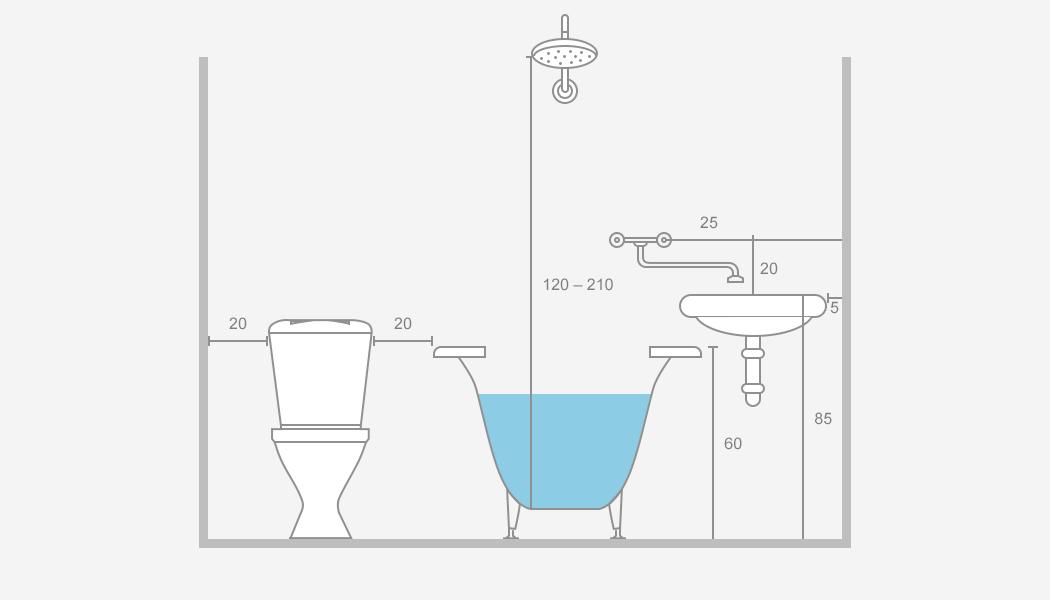 Установка в ванной раковины с тумбой: как сделать правильно?