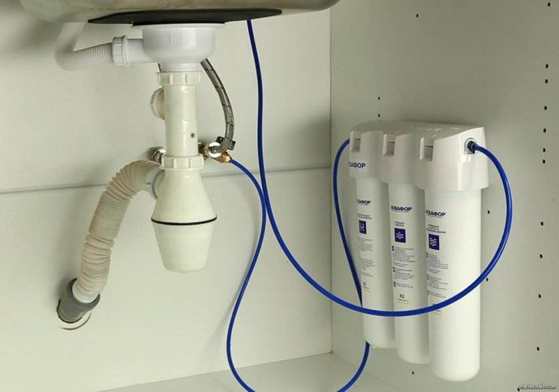 Рейтинг фильтров для воды под мойку проточного типа. установка фильтра своими руками