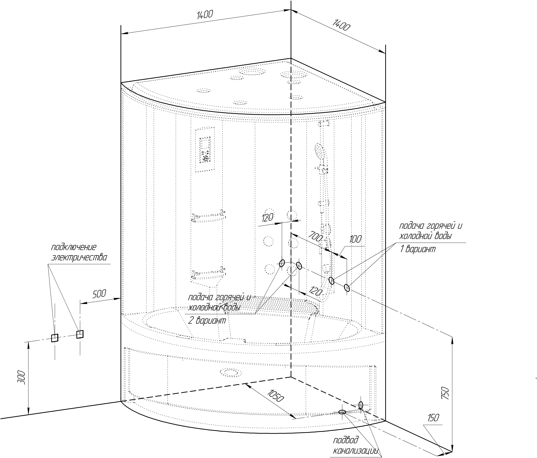 Как подключить душевую кабину к водопроводу: обустраиваем ванную комнату без помощи сантехников