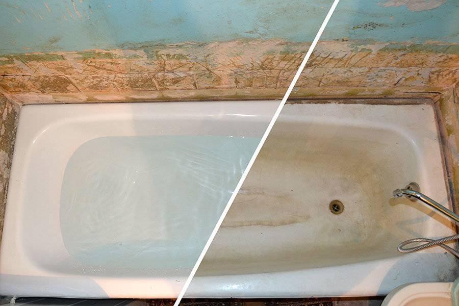 Простая реставрация ванны своими руками: 4 варианта - vodatyt.ru