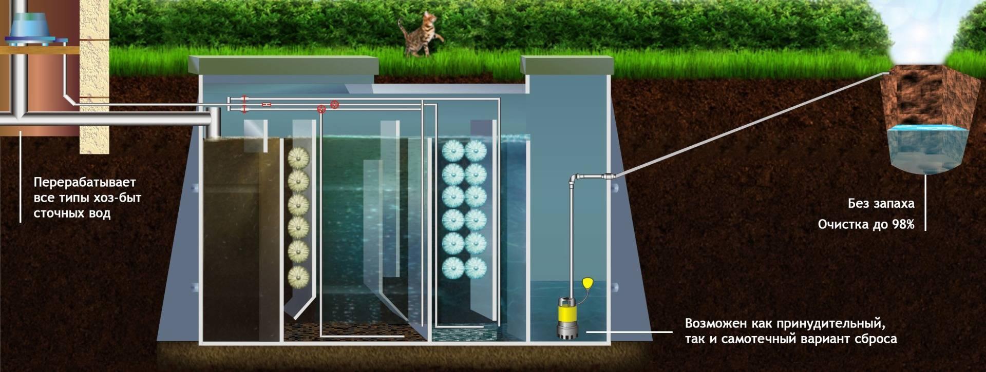 Что лучше: септик или выгребная яма? автономная канализация для загородного дома