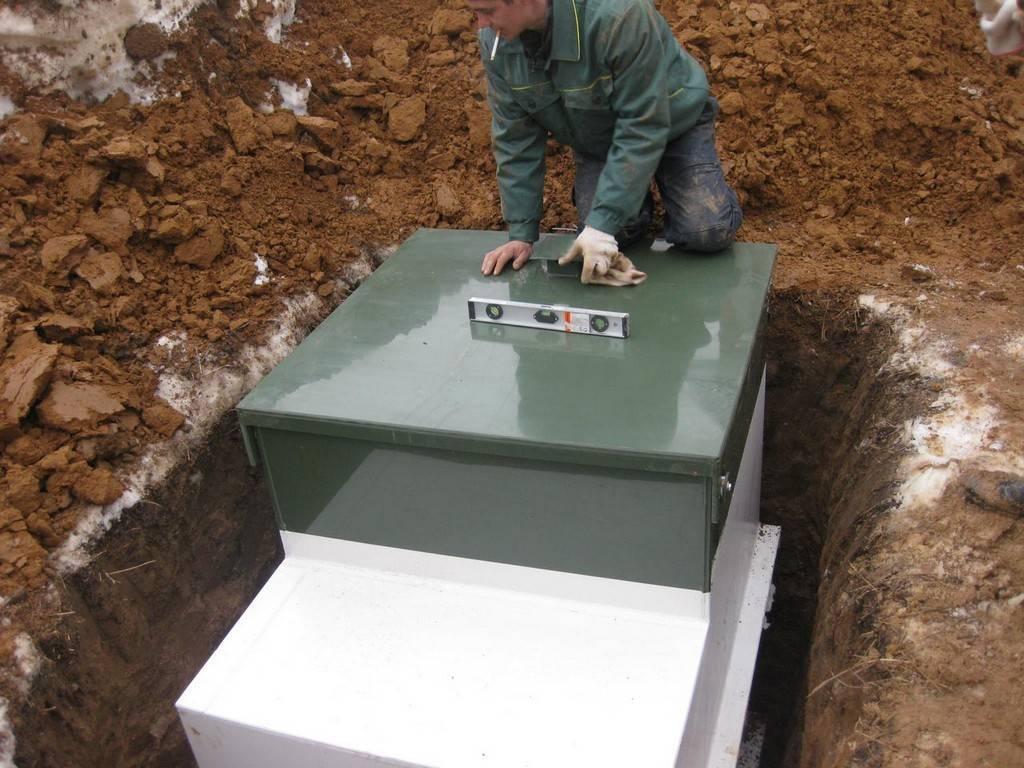 Сравнительный обзор септиков танк и топас: установка и принцип работы