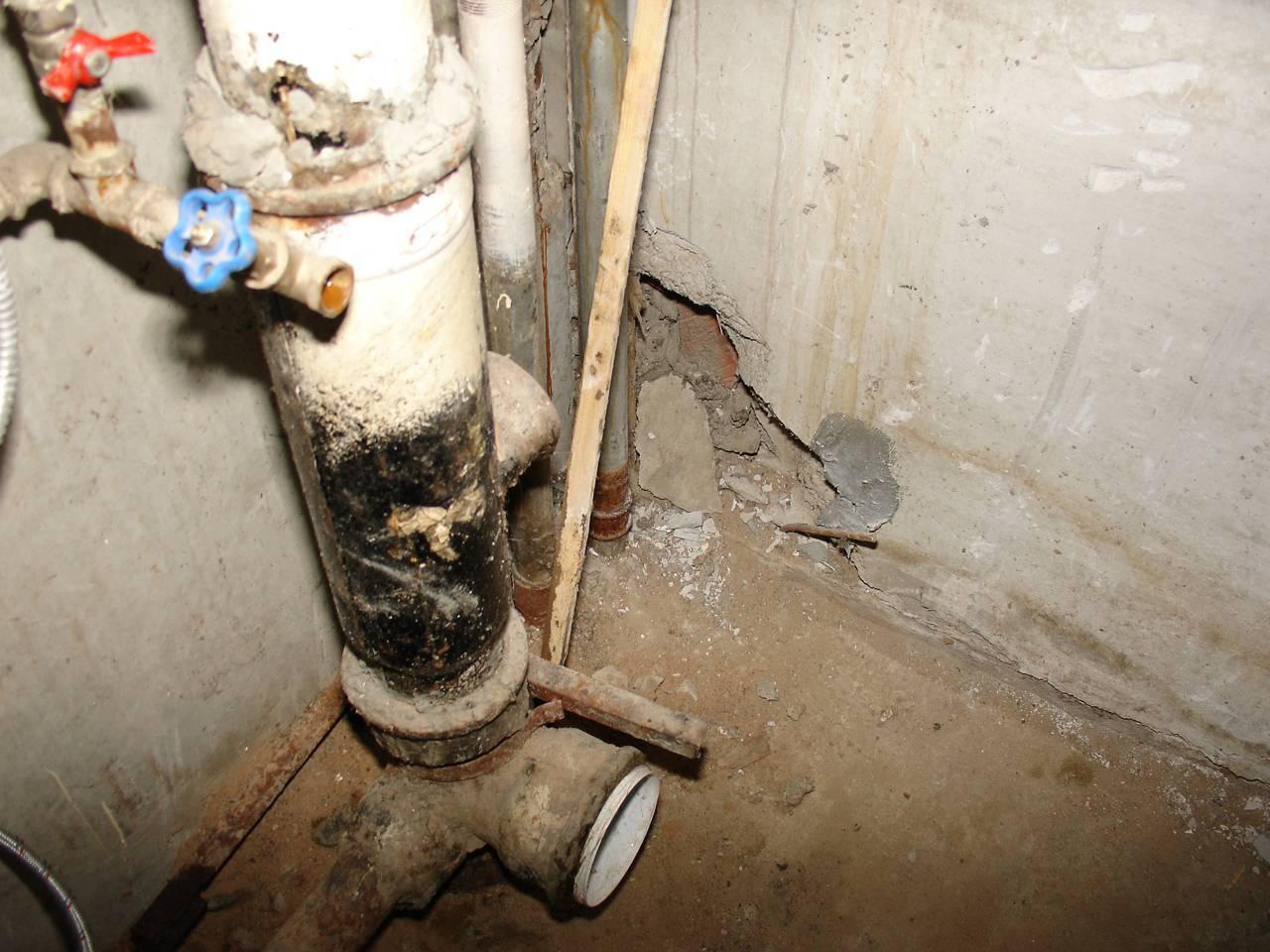 Замена стояка канализации в квартире своими руками