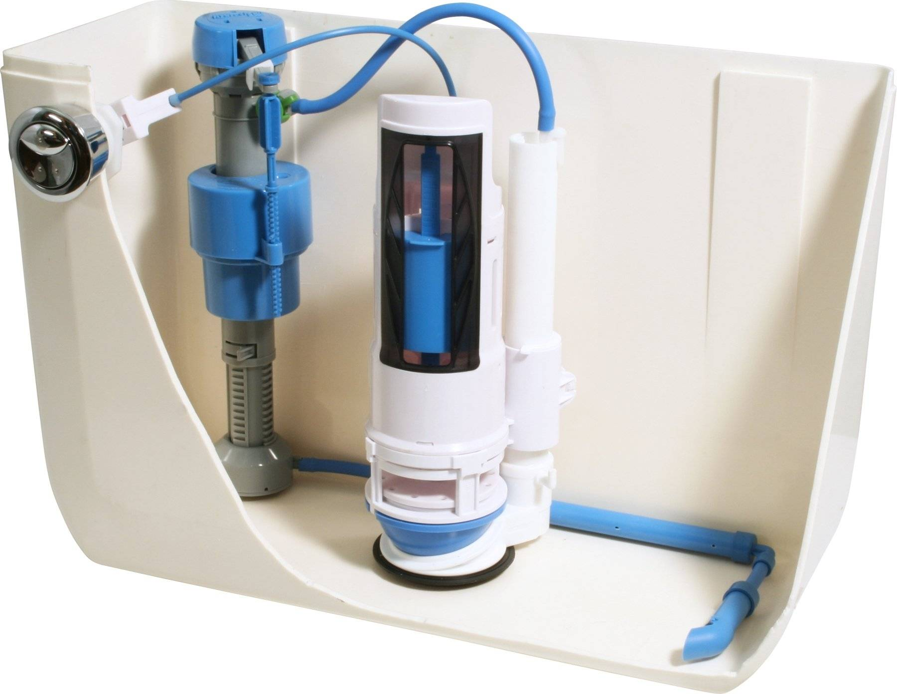 Регулировка смывного бачка с нижней подводкой - всё о сантехнике