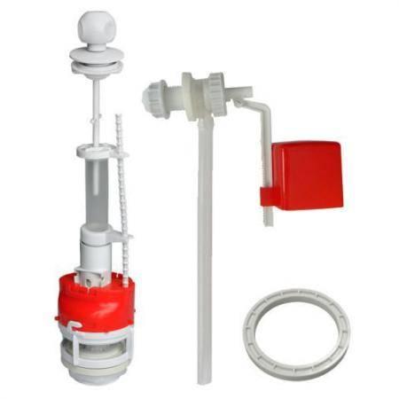 Как подобрать арматуру для сливного бачка? - отопление и водоснабжение от а до я