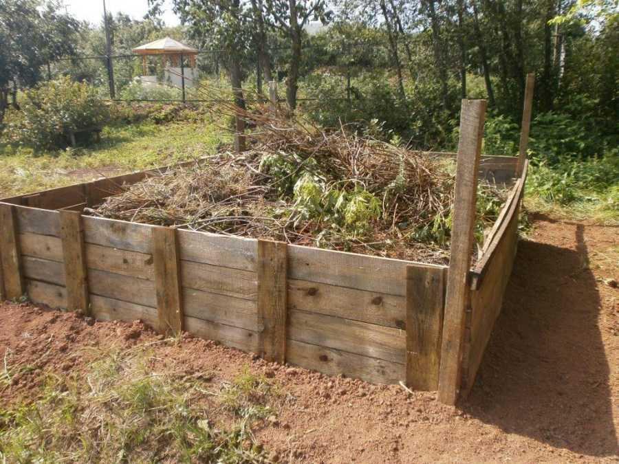 Как сделать компостную яму своими руками - варианты изготовления и материалы