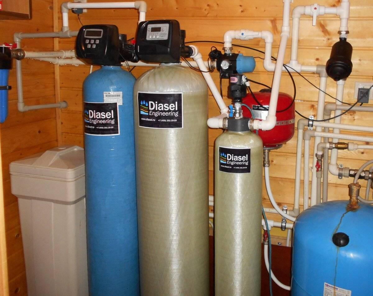 Очистка воды от железа из скважины - обзор способов + инструкция!