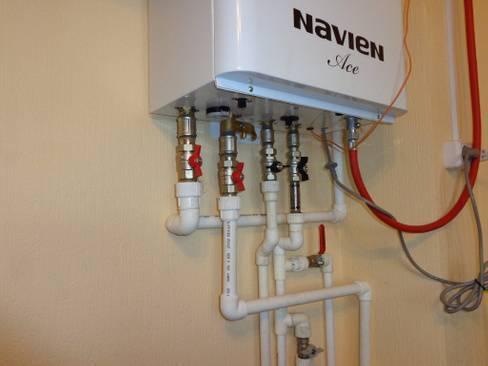 Установка двухконтурного котла. принцип работы газовых аппаратов. классификация двухконтурных навесных газовых котлов