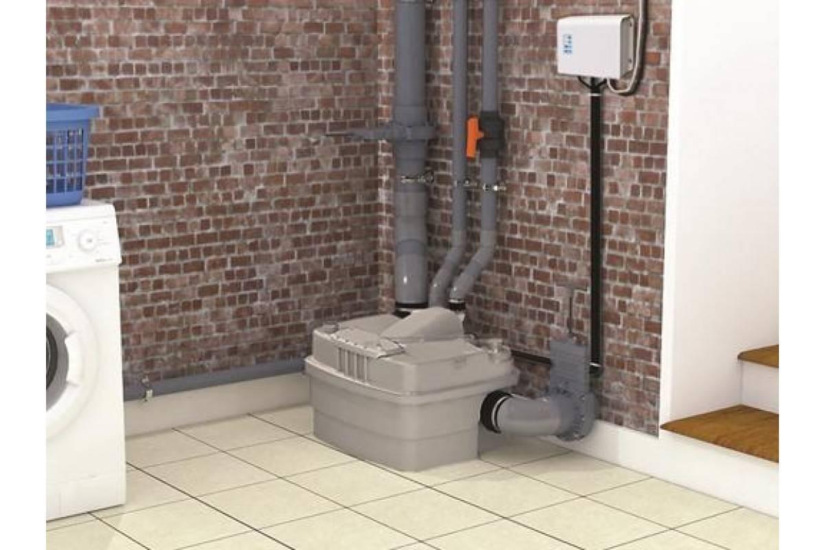 Сантехнический насос для принудительной канализации в квартире на кухне