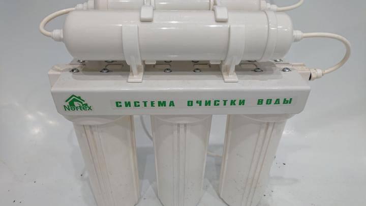 Фильтр для воды nortex (нортекс) пятиступенчатая система очистки воды