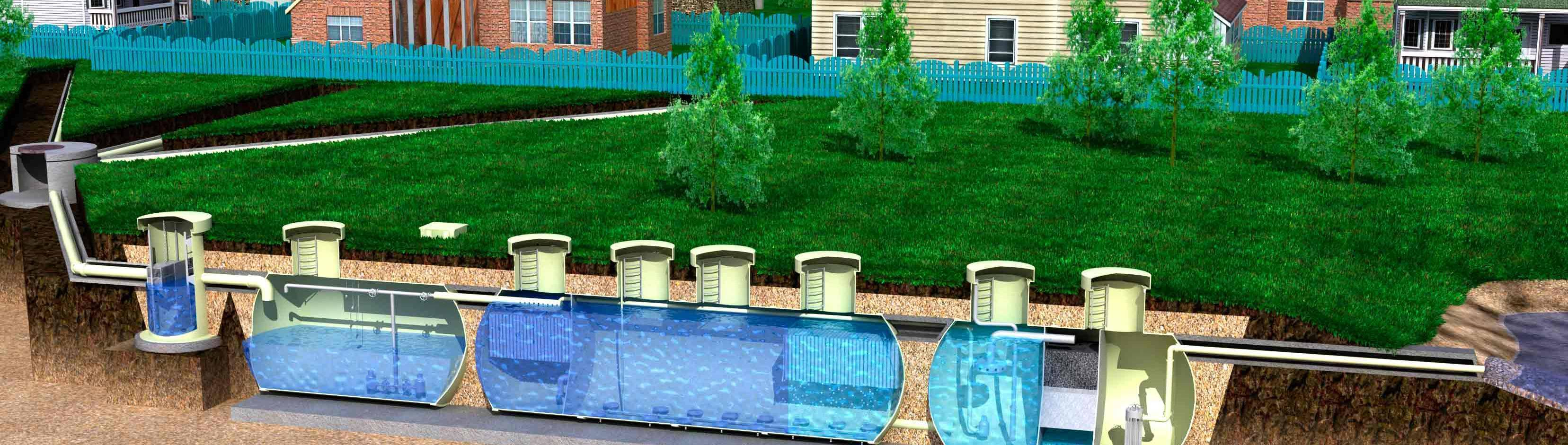 Очистные сооружения для частного дома